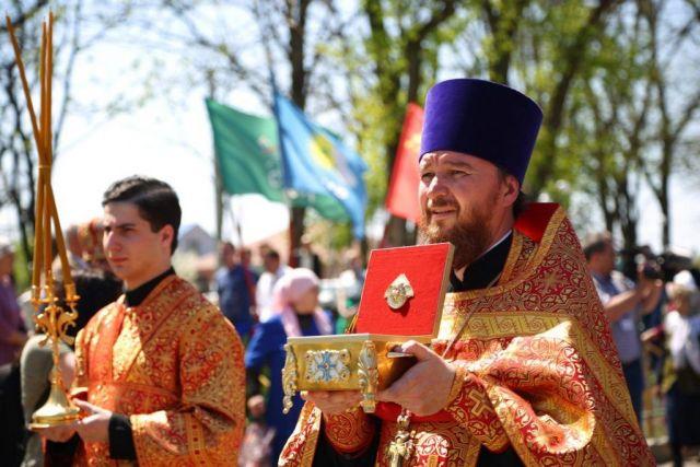 На Ставрополье привезли частицу мощей святой блаженной Матроны Московской