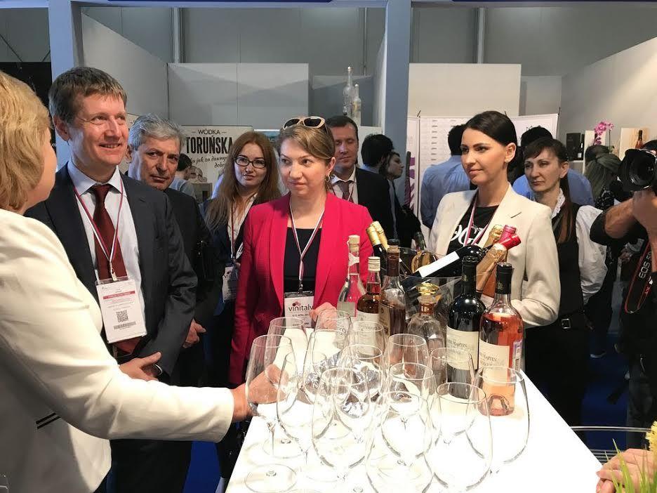 Ставропольские производители участвуют витальянской выставке вин