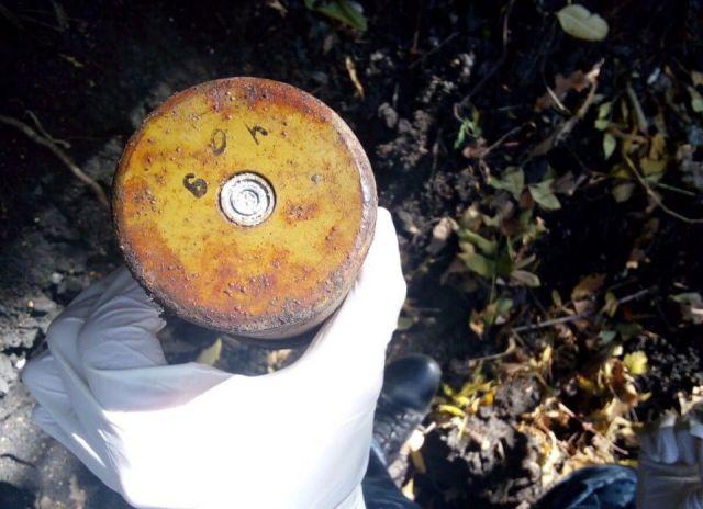 В Ставропольском крае взрывотехники ОМОН обезвредили мину