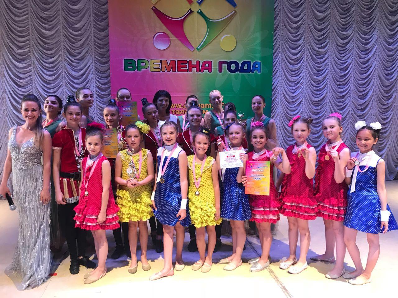 Ставропольские танцоры получили три золотые медали на международном конкурсе