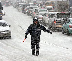 Общественного транспорта не было из-за погоды
