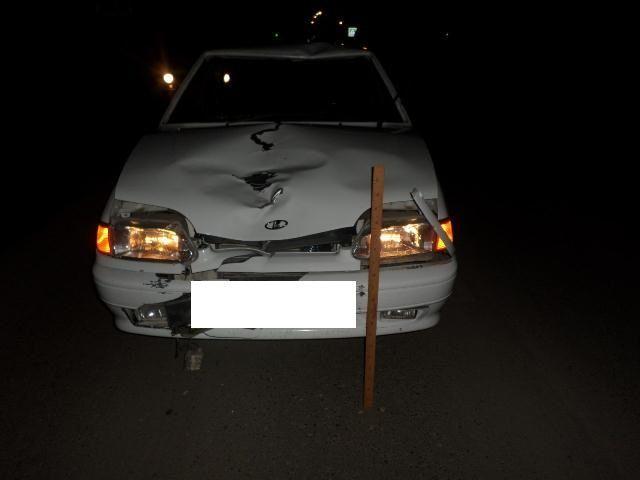 В Ставропольском крае погиб пешеход, внезапно выбежавший на дорогу