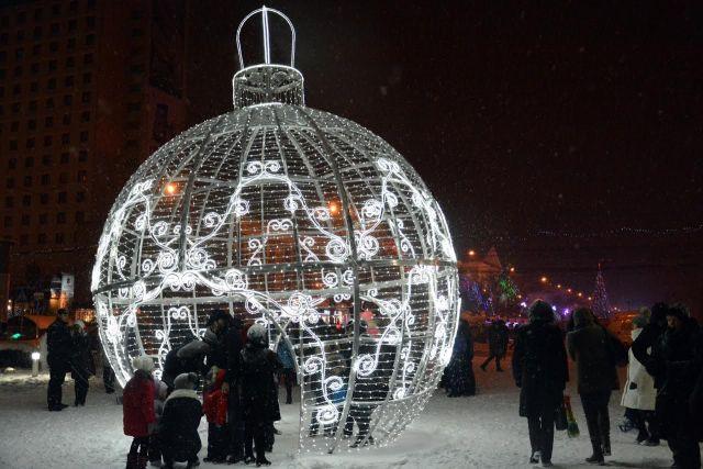 Ставрополь готовится к новогодним праздникам