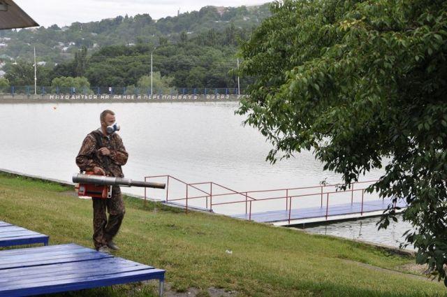 Комсомольское озеро в Ставрополе готовится к открытию купального сезона