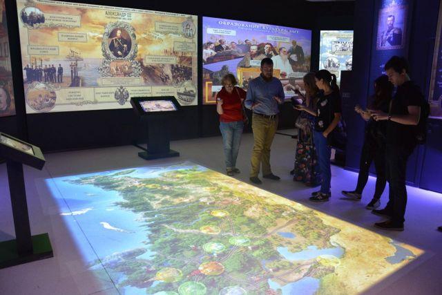 Музей «Россия — Моя история» с момента открытия посетили более пяти тысяч горожан