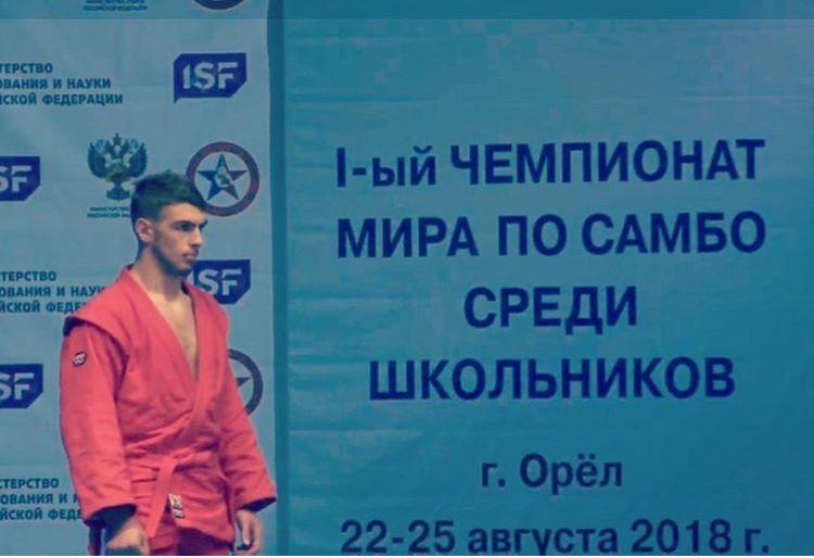 Ставрополец завоевал бронзу первого чемпионата мира по самбо среди школьников
