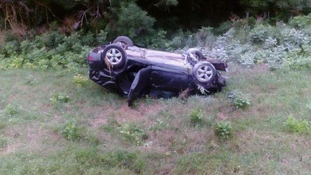 На Ставрополье в перевернувшихся автомобилях погибли два водителя