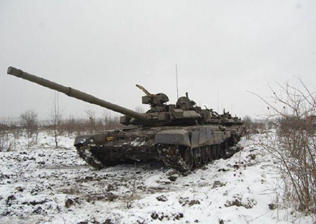 Новобранцы танковых подразделений ЮВО в Ставропольском крае осваивают модернизированные танки