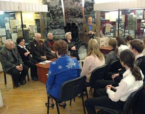 В музее-заповеднике прошла встреча «Незабываемые года»
