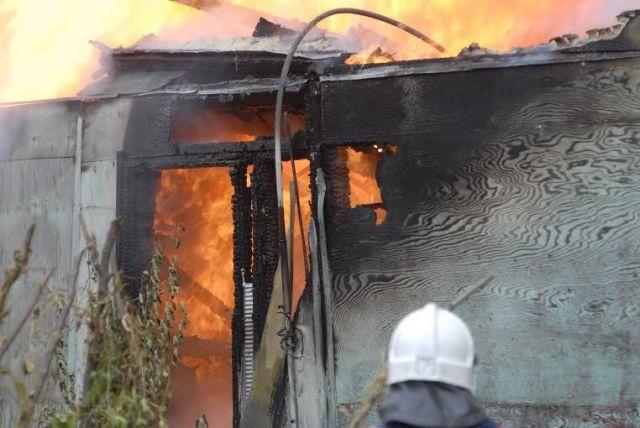 В Ставропольском крае в частном доме сгорел человек