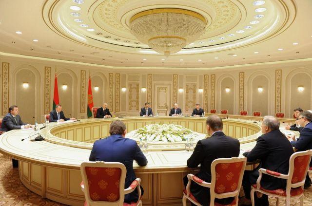 В Минске состоялась рабочая встреча президента Белоруссии и губернатора Ставропольского края