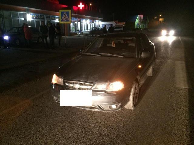 В Предгорном районе водитель сбил на пешеходном переходе школьника
