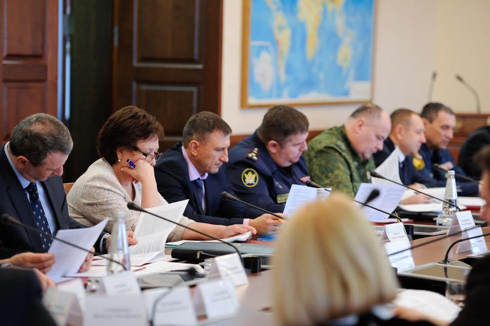 Губернатор Ставрополья провёл совещание антитеррористической комиссии