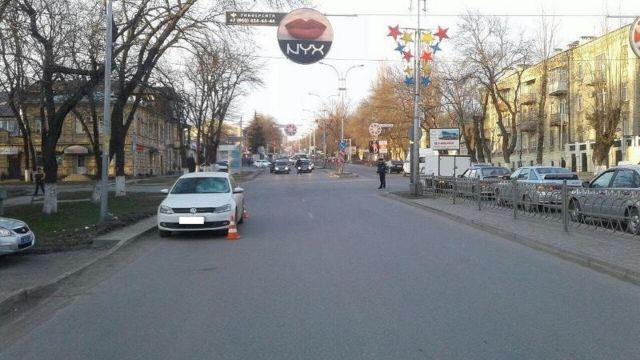 В Пятигорске 20-летний студент сбил мужчину