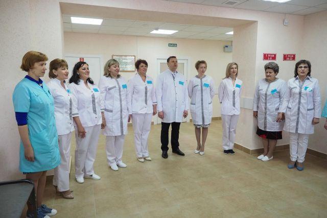В Благодарненском районе открыт новый медицинский центр