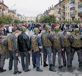 Недопущение Кондопоги в Новоалександровске