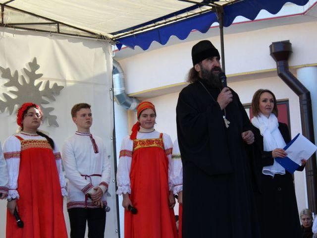 Солнечный город-курорт Кисловодск встретил Рождество