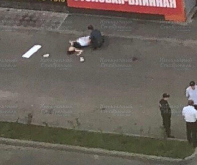 Очевидцы: В Ставрополе женщина выпала из окна 10 этажа