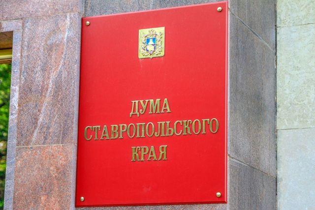 Краевые парламентарии обсудили ряд актуальных тем
