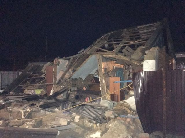 На Ставрополье произошёл взрыв газо-воздушной смеси в частном доме