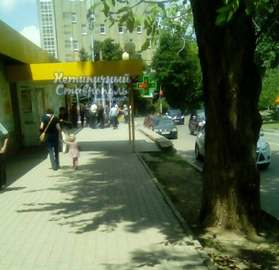 Мужчина получил ранение впроцессе перестрелки вцентре Ставрополя
