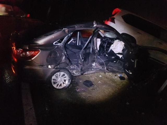 Пассажирка Лада Granta скончалась после столкновения сджипом Лексус под Ставрополем