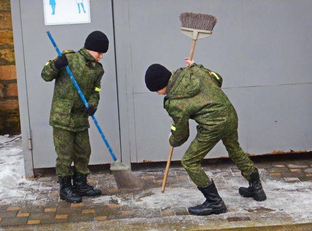 Ставропольские кадеты очистили территорию у источника Серафима Саровского