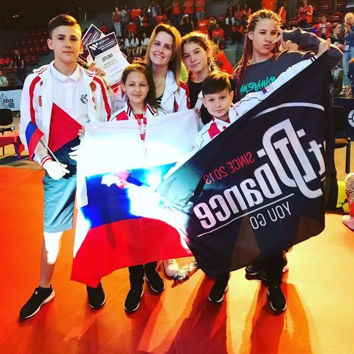 Ставропольские танцоры с успехом выступили на чемпионате Европы