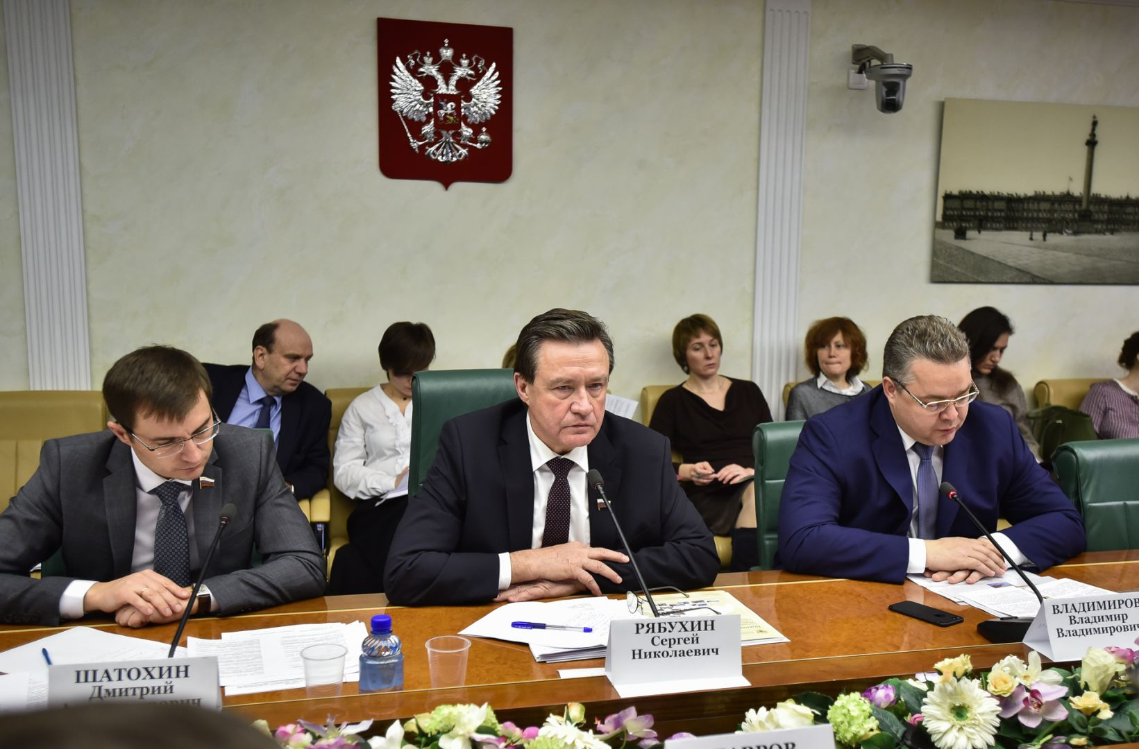 Опыт Ставропольского края поподдержке местных инициатив сегодня учили вСовете Федерации
