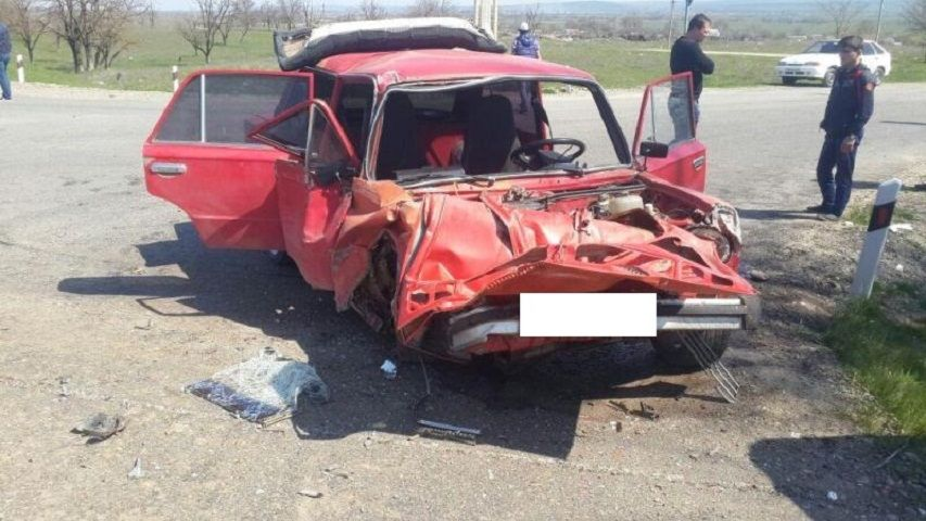 НаСтаврополье вДТП угодила женщина с4-летним сыном наруках