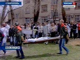В Ставрополе горело студенческое общежитие