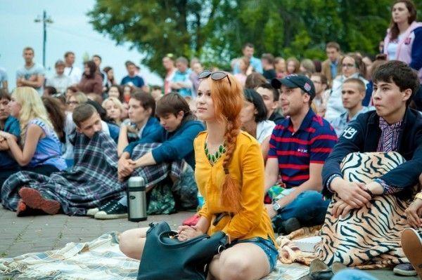 В Пятигорске прошёл фестиваль уличного кино