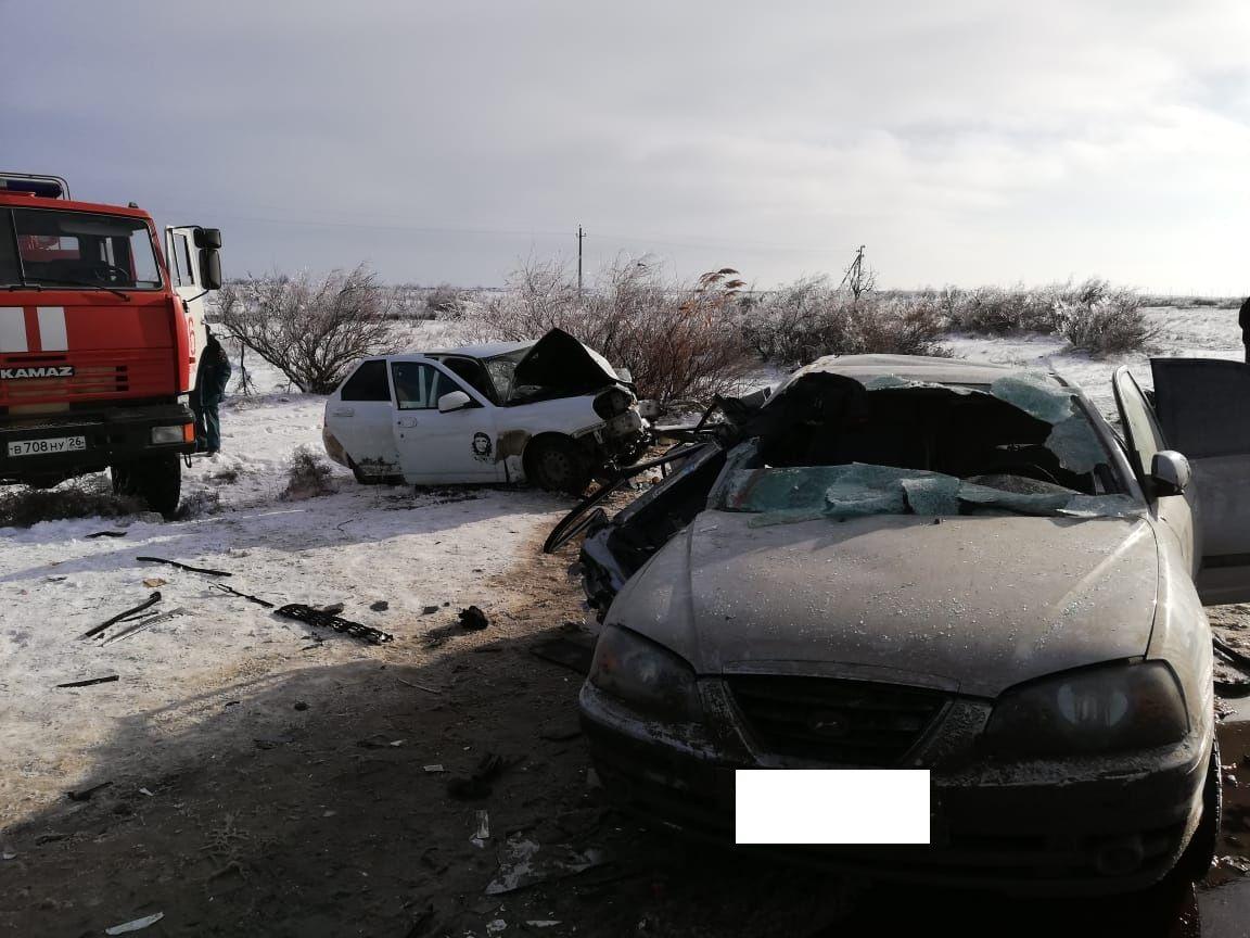 Предполагаемый виновник аварии в Нефтекумском округе оказался частым нарушителем ПДД