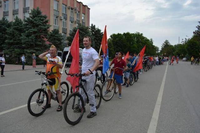 В Ставропольском крае прошёл единый день велопарадов