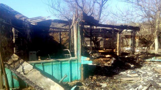 На Ставрополье пенсионер погиб в пожаре