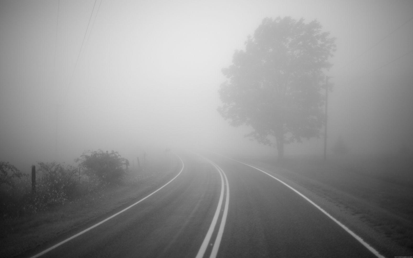 ГИБДД: из-за тумана наСтаврополья водителей призывают квнимательности