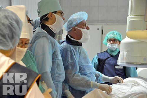 В Ставрополе прооперировали пациентов с опухолями сосудов головного мозга