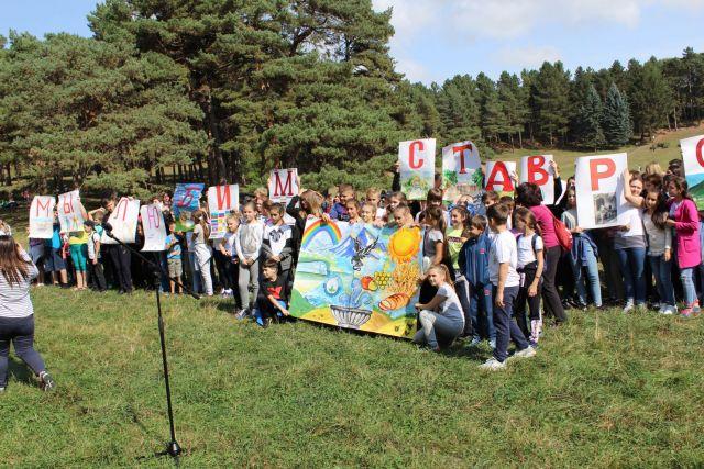 Более 500 человек поучаствовали во флешмобе, посвящённом Дню Ставропольского края
