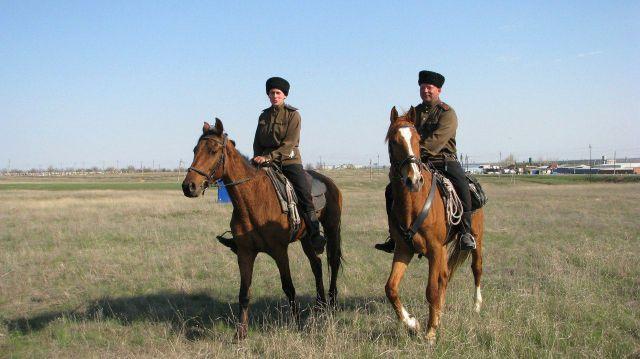 В Ставропольском крае пройдёт первый конный переход терских казаков