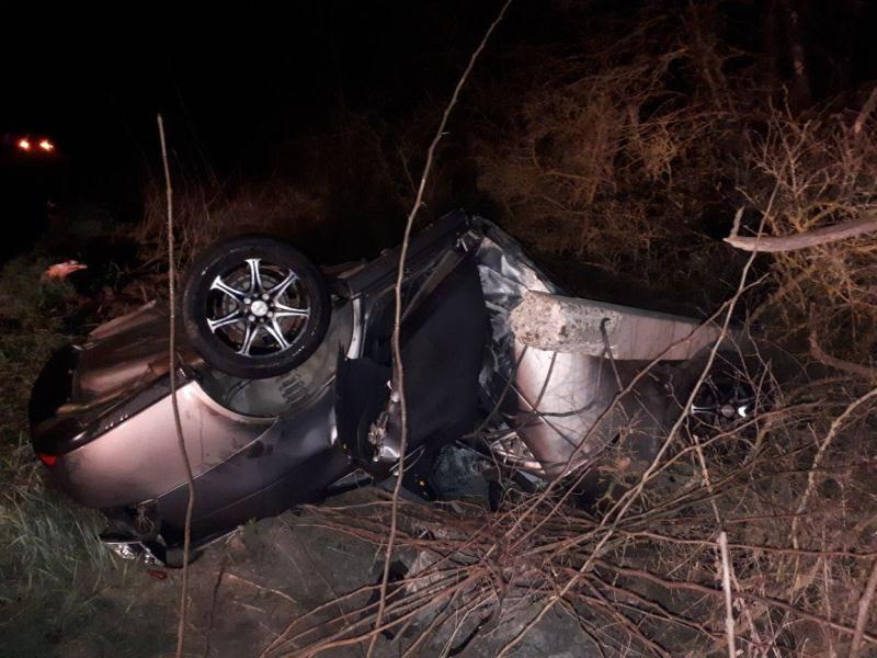 Молодая женщина-водитель погибла вДТП