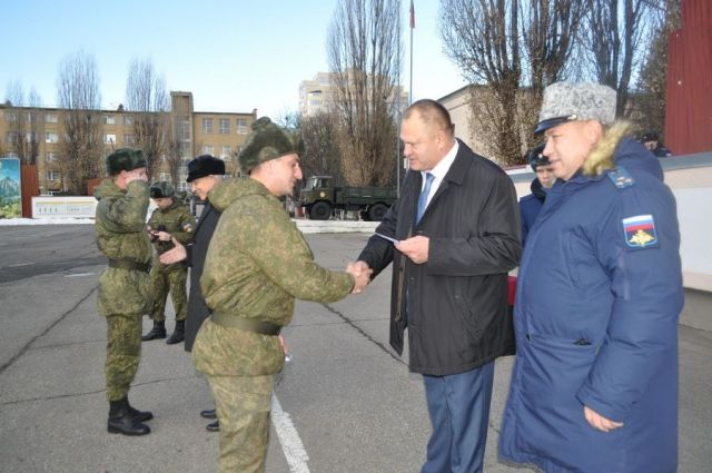 Шестеро ставропольских солдат вернулись из Сирии