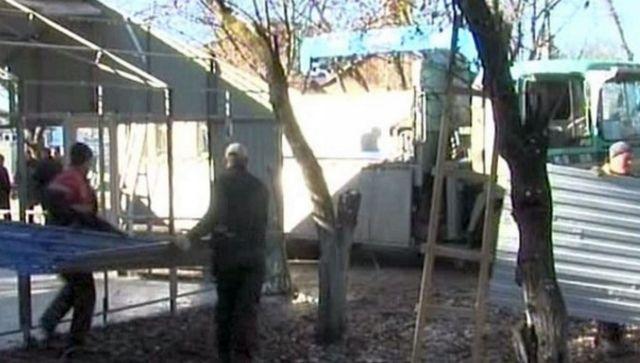 В Пятигорске сносят нелегальные мойки и шашлычные