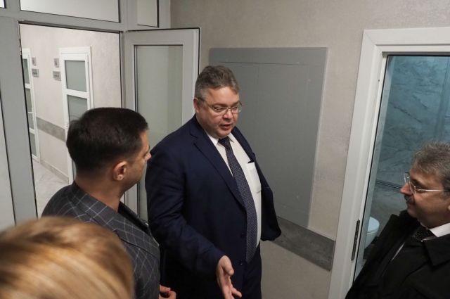 Глава Ставропольского края проверил медучреждения Пятигорска