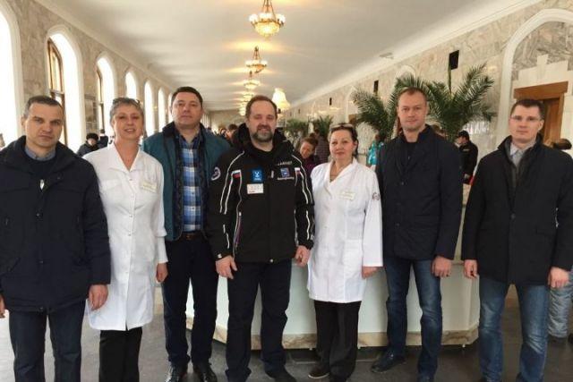 Федеральный министр природы обсудил в Кисловодске ремонтные работы в нацпарке