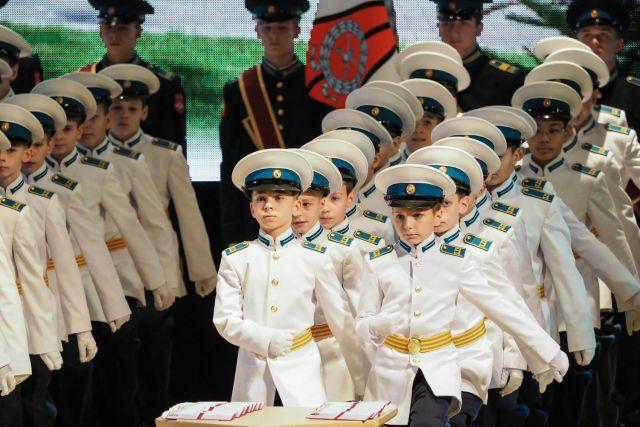 Кадеты Ставропольского президентского кадетского училища принесли присягу