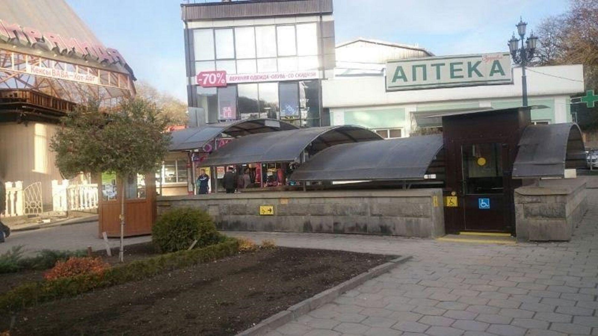 ВКисловодске появился стилизованный подземный переход слифтом