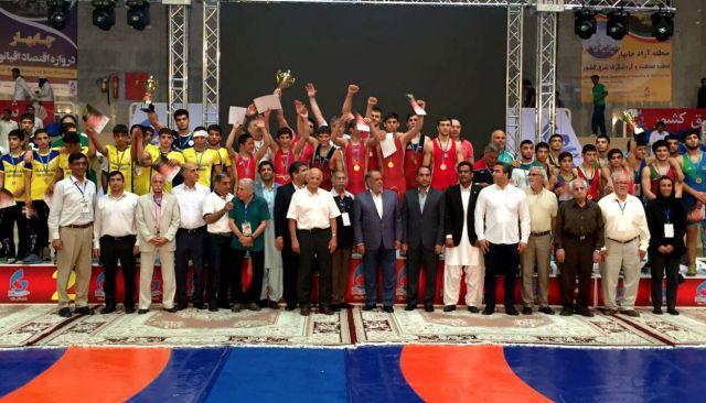 Ставропольский борец получил золото в Иране