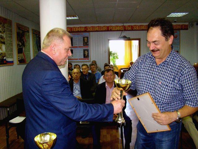 Лучшие школы и преподавателей ОБЖ Ставрополя наградили за военно-патриотическую работу с детьми