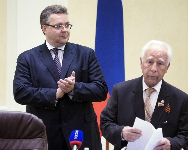 Член КПРФ Алексей Гоноченко вошёл в штаб поддержки Владимира Владимирова