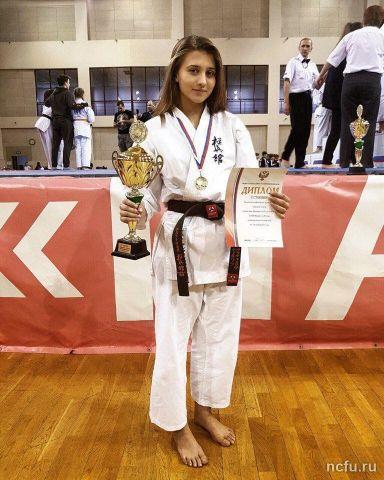 Ставропольская студентка стала чемпионкой первенства России по каратэ